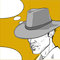 Stock Image : Cowboy pop art dialog