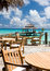 Stock Image : The cozy restaurant in the hotel, Maldivian island