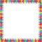 Stock Image : Crayon Border
