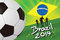 Brazil Soccer Background 2014