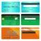 Stock Image : Credit card