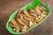 Stock Image : Crispy fried anchovies fish