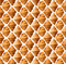 Stock Image : Croissants pattern