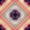Stock Image : Cross-stitch pattern on blurred background