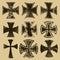 Stock Image : Crosses
