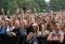 Stock Image : Music festival crowd