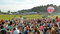 Stock Image : Crowds at Bristol Balloon Festival 2012