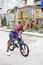 Stock Image : Cuban kid on bike