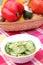 Stock Image : Cucumber salad