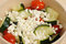 Stock Image : Cucumbers Tomato and Feta Salad