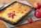 Stock Image : Curd casserole.