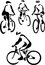Stock Image : Cyclist