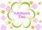 Stock Image : Día de madres