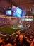 Stock Image : Dallas Cowboy Game at AT&T Stadium