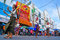 Stock Image : Dancing parade