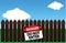 Stock Image : Danger - do not enter
