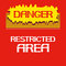 Stock Image : Danger.Restricted area
