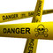 Stock Image : Danger tapes