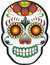Stock Image : Day of the dead Sugar Skull