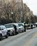 Stock Image : DC Police at Ukraine Protest