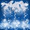 Stock Image :  De achtergrond van Kerstmis met spar