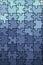Stock Image :  De blauwe textuur van het gradiëntraadsel