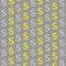 Stock Image :  De dollars ondertekenen gouden en zilveren patronen