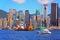 Stock Image : De havenmening van Hongkong