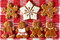 Stock Image :  De parenkoekjes van de Kerstmispeperkoek