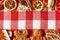 Stock Image :  De peperkoekkoekjes van Kerstmis