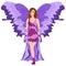 Stock Image : De purpere Fee van de Vlinder