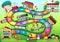 Stock Image :  De raadsspel van het schoolthema