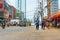Stock Image :  De straatmarkt van de politiemannenpatrouille in Manilla, Filippijnen