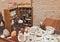 Stock Image :  De winkel van de oude kruidkundige