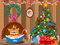 Stock Image : Decorated christmas room
