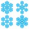 Stock Image : Decorative abstract snowflake.