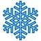 Stock Image : Decorative abstract snowflake.