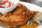 Stock Image : Deep-Fried Marinated Snapper with Sweet Fish Sauce