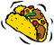 Stock Image : Delicious Mexican Taco
