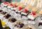 Stock Image : Delicious miniature cakes