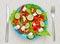 Stock Image : Delicious salad