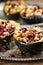 Stock Image : Delicious Stuffed Acorn Squash