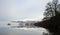 Stock Image : Derwentwater Jetty in Winter