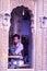 Stock Image : Desert village life in Bhuj, Gujarat, India