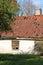 Stock Image : The destroyed house in Kuldiga, Latvia