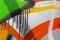 Stock Image : Detail of Graffiti