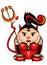Stock Image : She-devil
