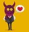 Stock Image : Devil Love