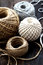 Stock Image : Diferent balls of string