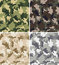 Stock Image : Different Camouflage Seamless Patterns